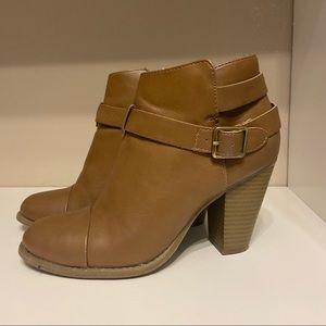 Lauren Conrad size 7boots with inner zipper inside